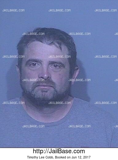 TIMOTHY LEE COBB mugshot picture