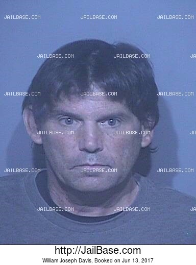 WILLIAM JOSEPH DAVIS mugshot picture