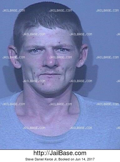 STEVE DANIEL KERCE JR mugshot picture