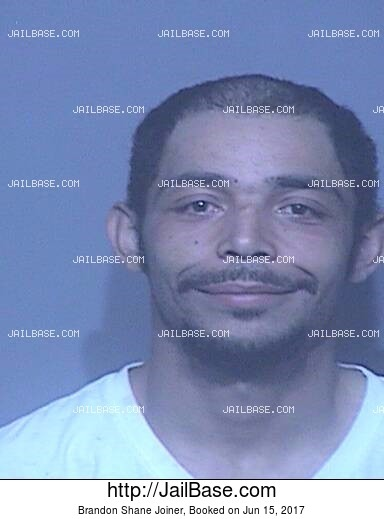 BRANDON SHANE JOINER mugshot picture