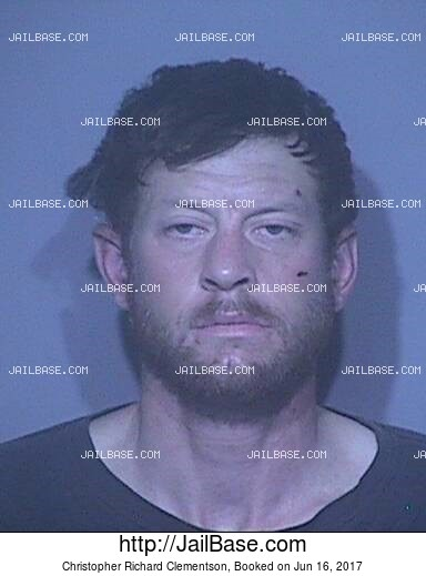 CHRISTOPHER RICHARD CLEMENTSON mugshot picture