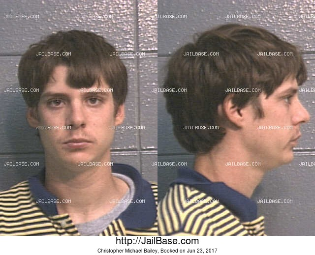 CHRISTOPHER MICHAEL BAILEY mugshot picture
