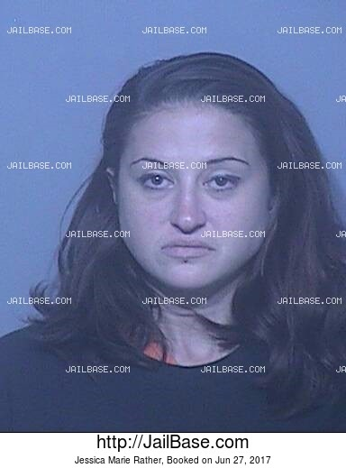JESSICA MARIE RATHER mugshot picture