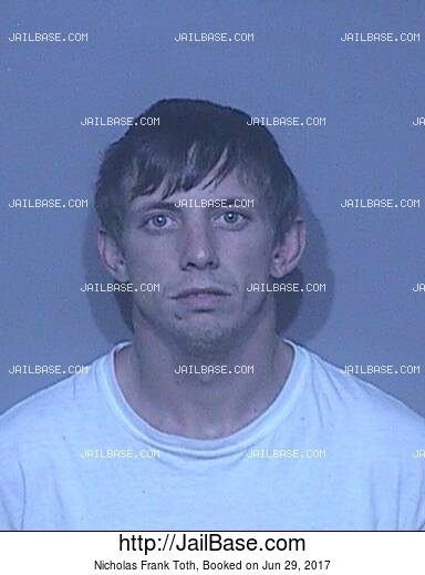 NICHOLAS FRANK TOTH mugshot picture
