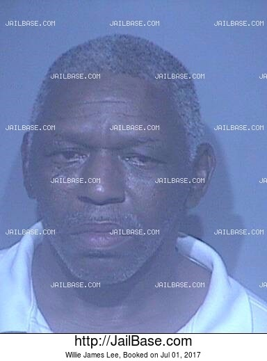 WILLIE JAMES LEE mugshot picture