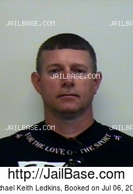 MICHAEL KEITH LEDKINS mugshot picture