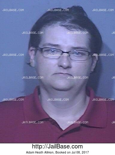 ADAM HEATH ALLMON mugshot picture