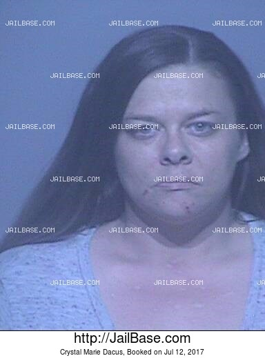 CRYSTAL MARIE DACUS mugshot picture