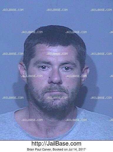 BRIAN PAUL CARVER mugshot picture