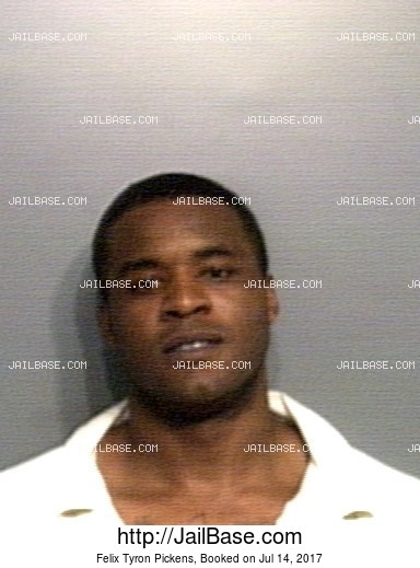 FELIX TYRON PICKENS mugshot picture