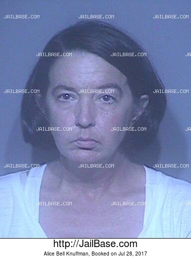 ALICE BELL KNUFFMAN mugshot picture