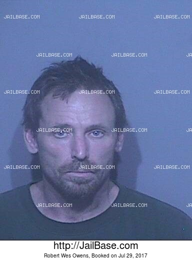 ROBERT WES OWENS mugshot picture