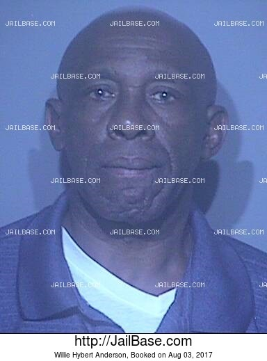 WILLIE HYBERT ANDERSON mugshot picture