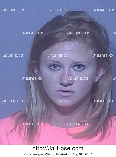 KARLY JERNIGAN VILBORG mugshot picture