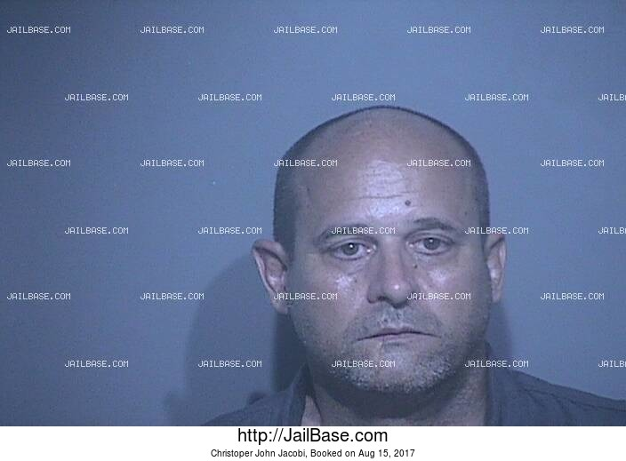 CHRISTOPER JOHN JACOBI mugshot picture