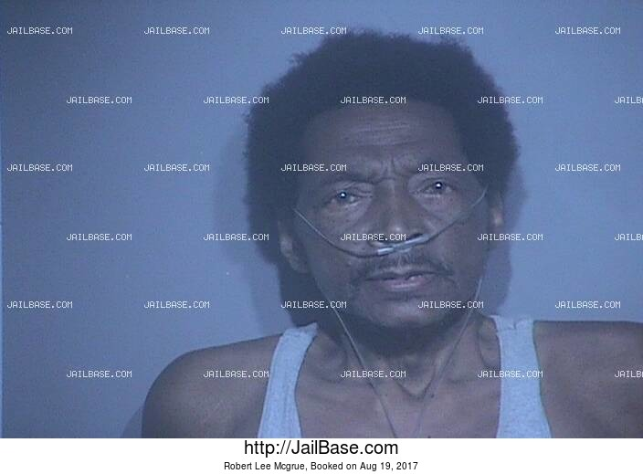 ROBERT LEE MCGRUE mugshot picture