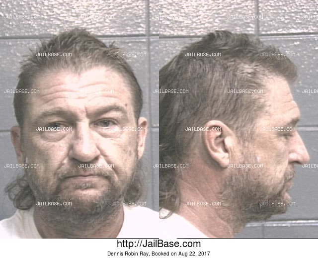 DENNIS ROBIN RAY mugshot picture
