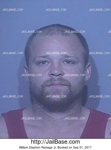 WILLIAM STEPHEN RAMAGE JR mugshot picture