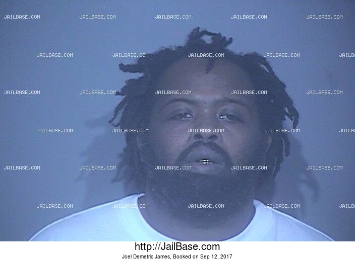 JOEL DEMETRIC JAMES mugshot picture