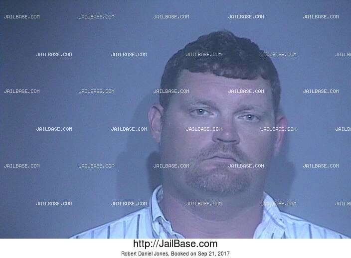 ROBERT DANIEL JONES mugshot picture