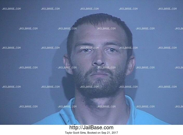 TAYLOR SCOTT SIMS mugshot picture