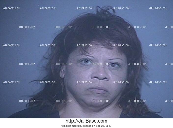 GRACIELLA NEGRETE mugshot picture