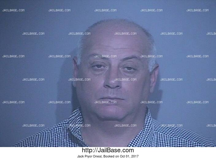 JACK PRYOR ONEAL mugshot picture