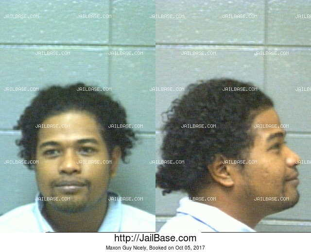 MAXON GUY NICELY mugshot picture