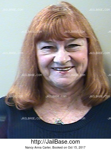 NANCY ANNA CARTER mugshot picture