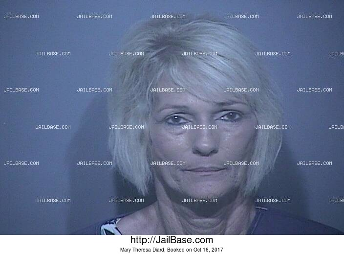 MARY THERESA DIARD mugshot picture