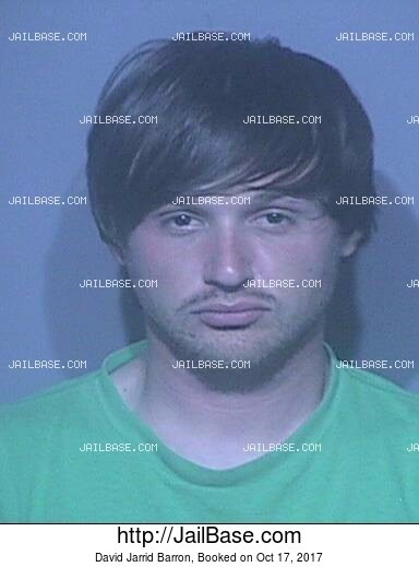 DAVID JARRID BARRON mugshot picture