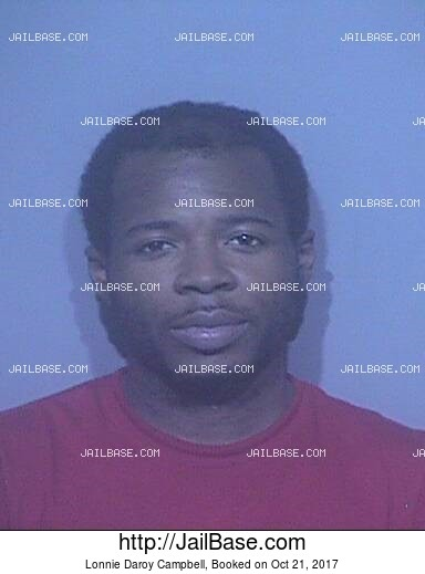 LONNIE DAROY CAMPBELL mugshot picture