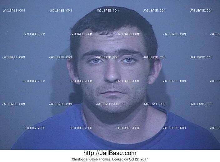 CHRISTOPHER CALEB THOMAS mugshot picture