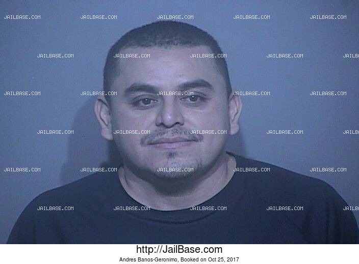 ANDRES BANOS-GERONIMO mugshot picture