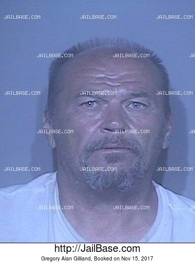 GREGORY ALAN GILLIAND mugshot picture