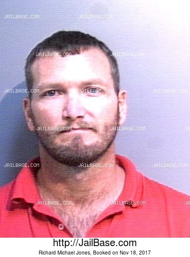 RICHARD MICHAEL JONES mugshot picture