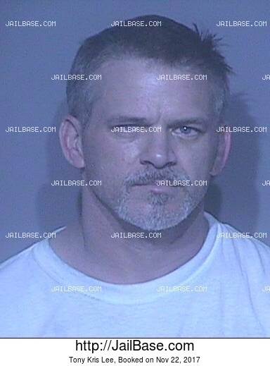TONY KRIS LEE mugshot picture