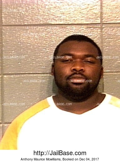 ANTHONY MAURICE MCWILLIAMS mugshot picture