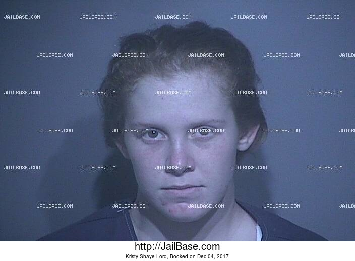 KRISTY SHAYE LORD mugshot picture