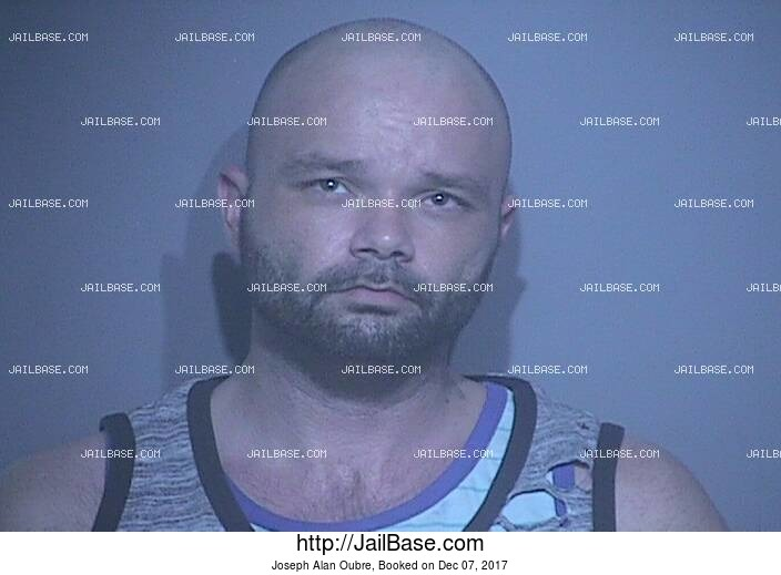 JOSEPH ALAN OUBRE mugshot picture