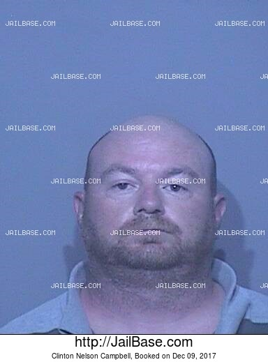 CLINTON NELSON CAMPBELL mugshot picture
