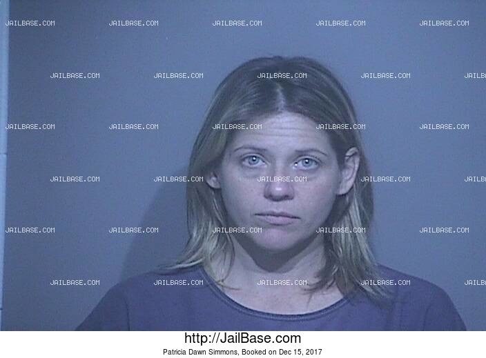 PATRICIA DAWN SIMMONS mugshot picture