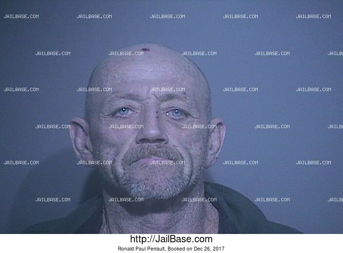 RONALD PAUL PERRAULT mugshot picture