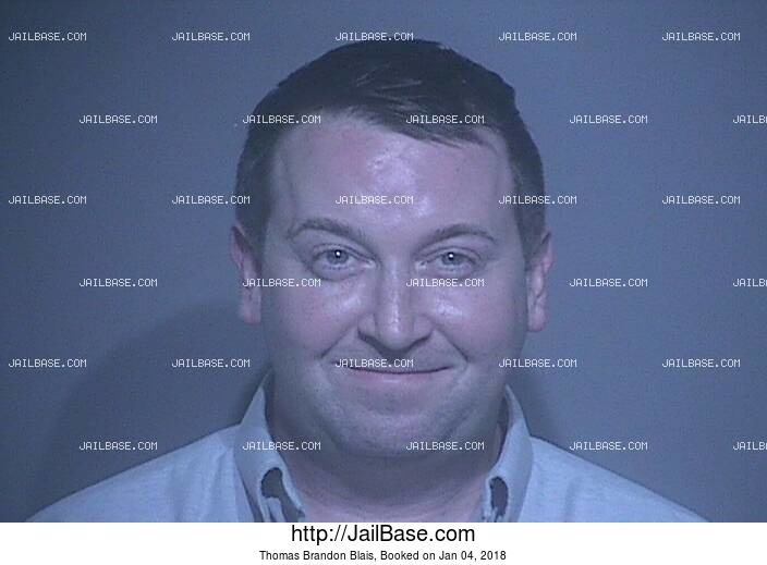 THOMAS BRANDON BLAIS mugshot picture