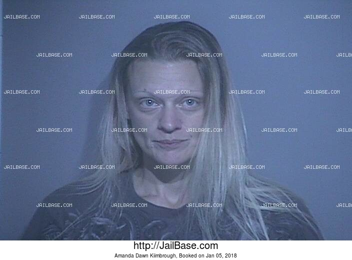 AMANDA DAWN KIIMBROUGH mugshot picture