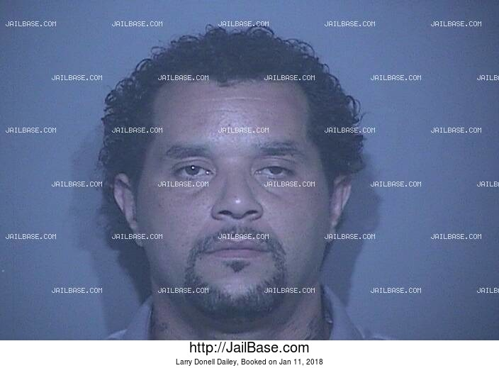 LARRY DONELL DAILEY mugshot picture