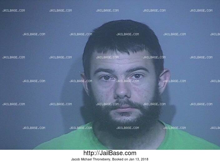 JACOB MICHAEL THRONEBERRY mugshot picture