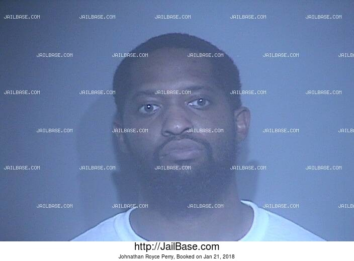 JOHNATHAN ROYCE PERRY mugshot picture