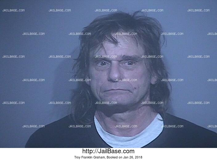 TROY FRANKLIN GRAHAM mugshot picture