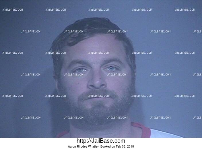 AARON RHODES WHATLEY mugshot picture